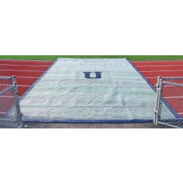 FWTP14x100-16P - FieldSaver Blanket-Style Weighted Track Protector 14' x 100' (Premium 15 oz) (Jump Pit Cover)