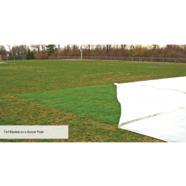 FTB110x110 - FieldSaver Winter Turf Blanket Growth Cover 110' x 110'