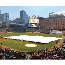 FS60002 - FieldSaver Infield Rain Cover - Regulation Baseball 160' x 160'