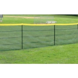 Grand Slam Fencing Standard Package 4' x 100' Fence - 5' Intervals (No Sockets)