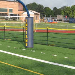 Above Ground Grand Slam Fencing Package 4' x 50' Fence - 10' Intervals