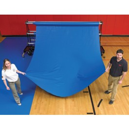 GGRM4x50 - GymGuard Gym Floor Runner Mat 32oz 4' x 50'