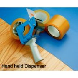 GGTAPE - GymGuard Gym Floor Cover Hand-Held Tape Dispenser and Tape