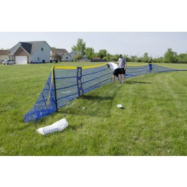 GS203 - Grand Slam Fencing Standard Package 4' x 150' Fence - 5' Intervals