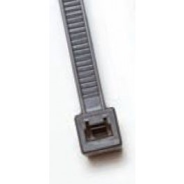 "plastic-ties-8in-50-tensile - Black Plastic Cable Ties - 8"" long, 50 lb tensile (100 Count)"