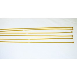 "T1001 - SafeFoam 19"" Ties - Yellow"
