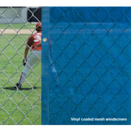 VCP1800-6h - FenceMate Solid Vinyl Windscreen 6' High