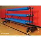GymGuard Mobile Premier Safety Storage Rack 6 Roller