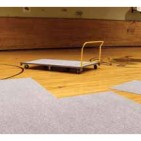 GymGuard Floor Cover Tiles Easy Transport Cart