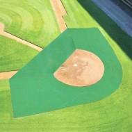 FieldSaver Batting Practice Infield Protector 20' x 20' x 60' (Standard Mesh)