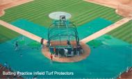 BPIP15x26x56S - FieldSaver Batting Practice Infield Protector 15' x 26' x 56' (Standard Mesh)