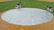 FieldSaver Weighted Spot Cover 26' Diameter (Vinyl)