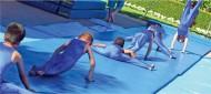 """ENFGM-2MF - EnviroSafe Non-Folding Gym Mat (2"""" Medium-Firm Foam)"""