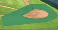 FieldSaver Batting Practice 2-Piece Collar and Infield Protector (Blanket)