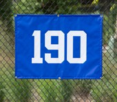 "ODM27x36 - Outfield Distance Marker for Smaller Fences - 27"" H x 36"" L"