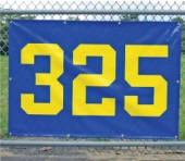 "ODM38x56 - Outfield Distance Marker - 38"" H x 56"" L"