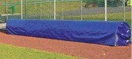 SCS60002 - FieldSaver Infield Storage Cover for 30' Roller (Silver/White Poly)