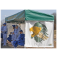 CS15 - Complete Portable Dugout/Shelter 15' Long