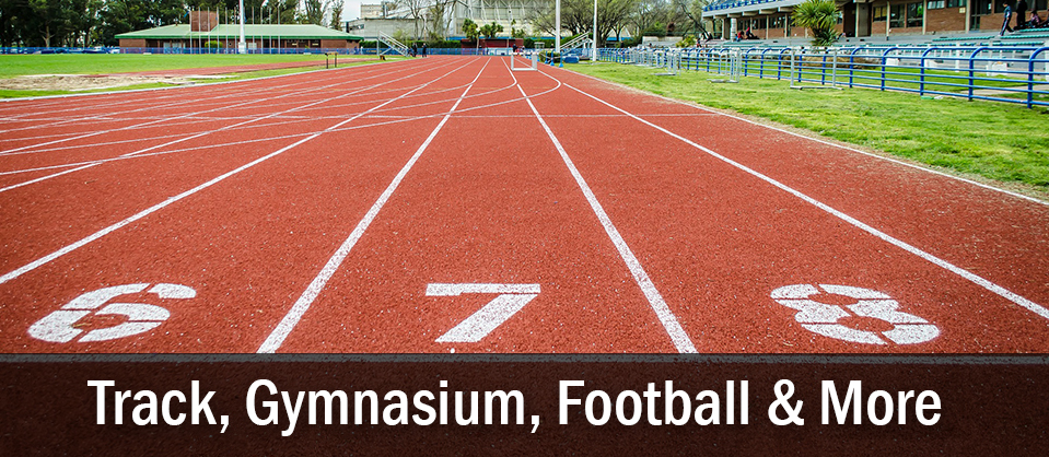Track, Gymansium and more sporting equipment