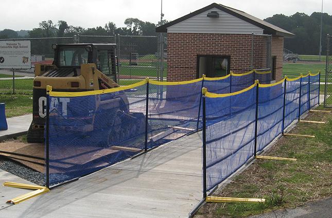 Above-Ground Grand Slam Fence